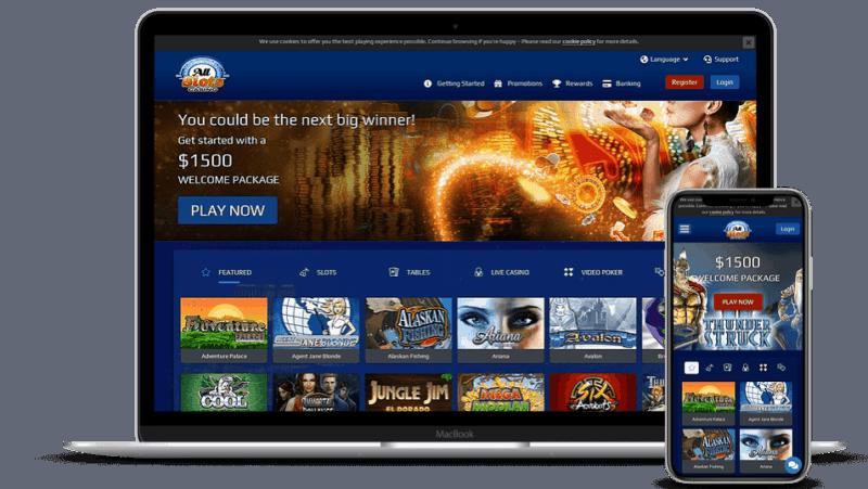All Slots Casino Online & Mobile