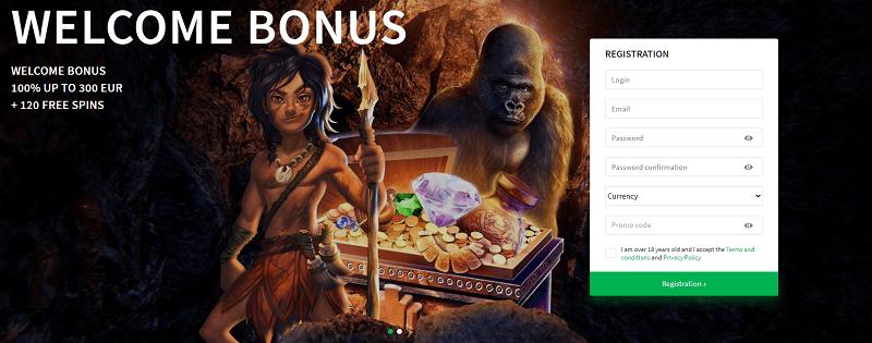 Dozen Spins register and get free bonus!