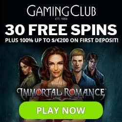 Gaming Club Casino banner