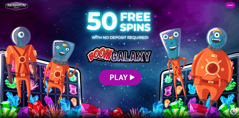 Play 50 Free spins on Boom Galaxy