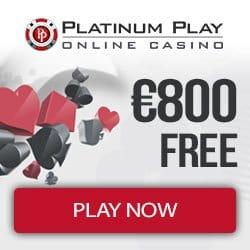 Platinum Play Casino banner new