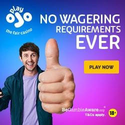 PlayOJO Casino banner 250x250