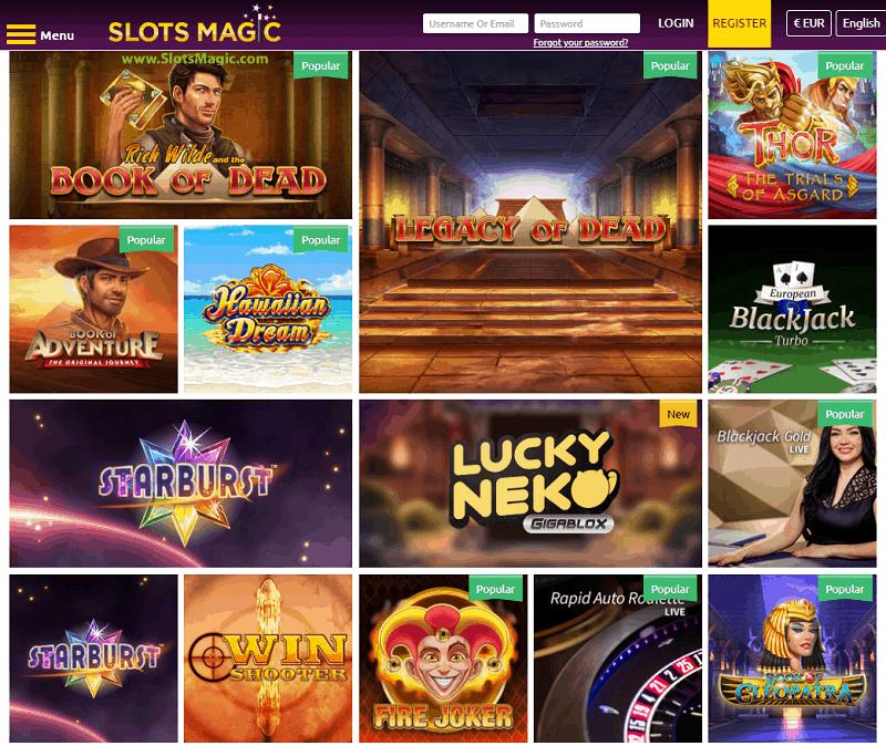 Slots Magic Casino Website