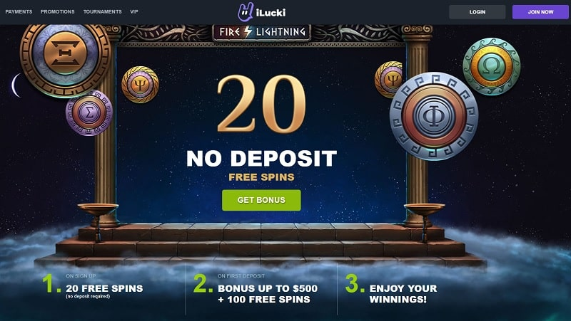 20 free spins without deposit
