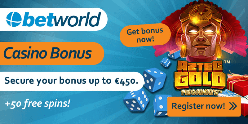Betworld Welcome Bonus and Free Spins Code
