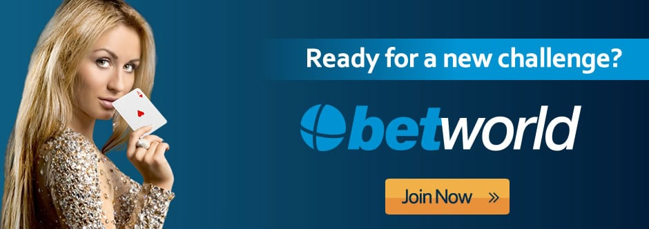 Betworld Online Casino and Sports Betting