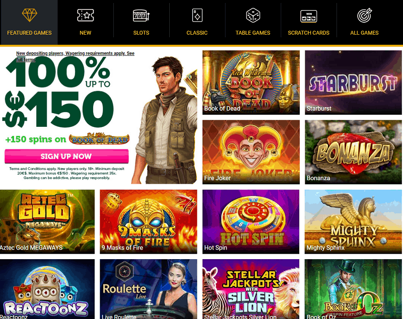 CasinoLuck Website Review