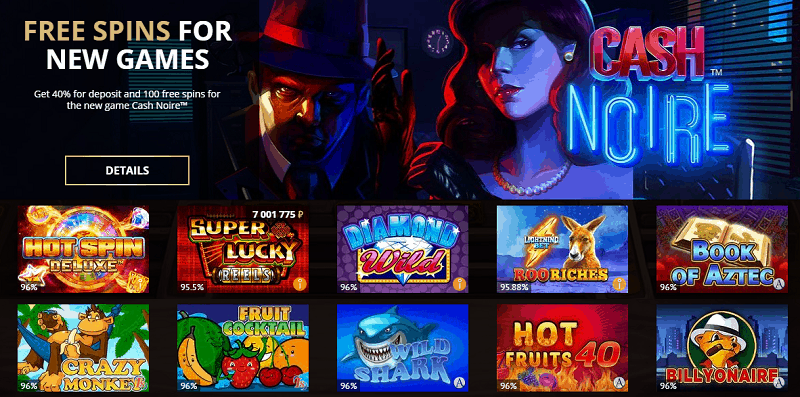 Free Spins For New Games