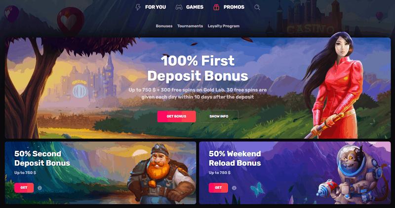 Casinomia Welcome Bonus & Promotions