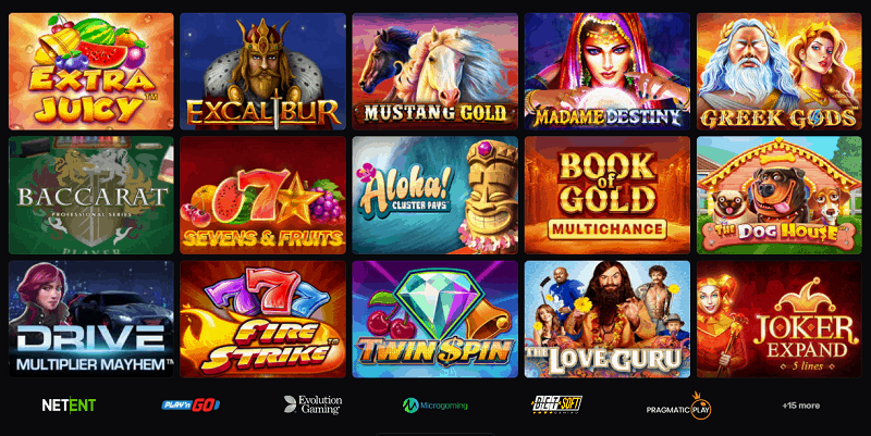 Casinomia Online Games