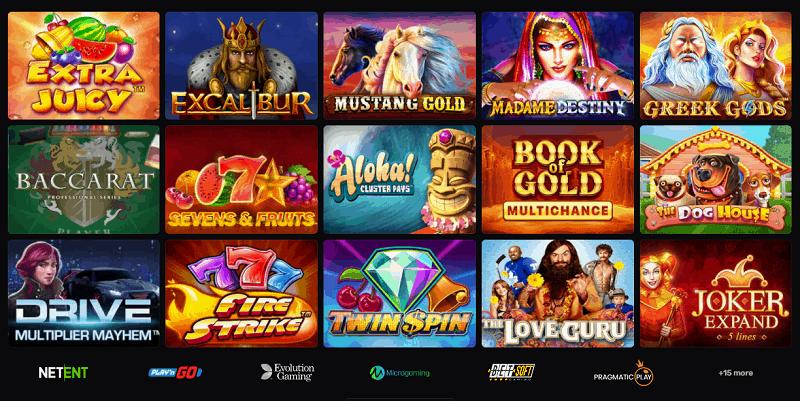 Casinomia Online Games