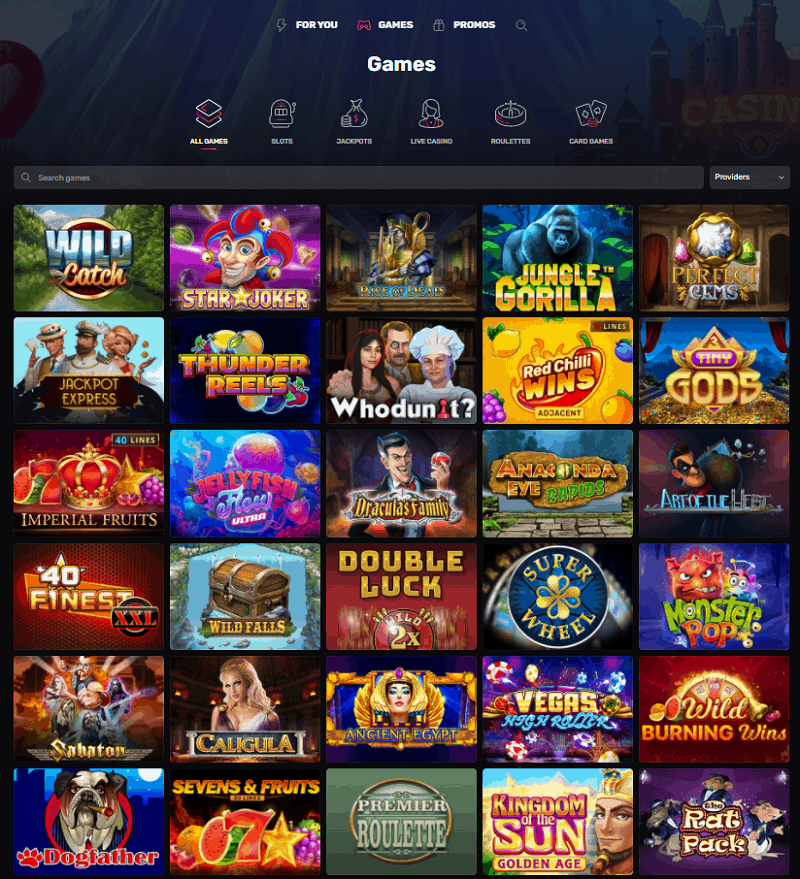 Casinomia Casino Review