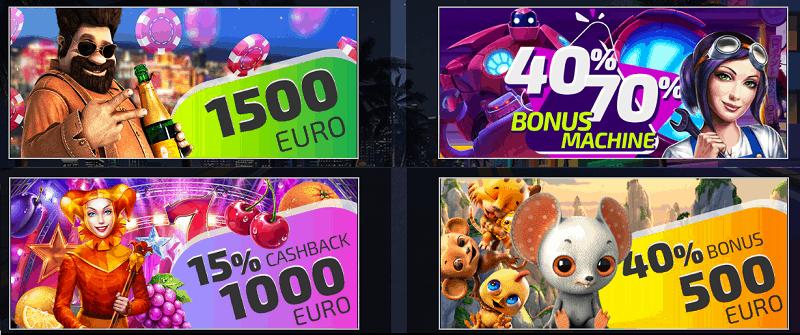 IVI Casino welcome bonus