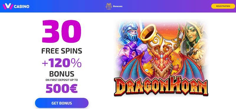 IVI Casino 30 no deposit free spins