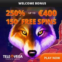 TeleVega Casino banner
