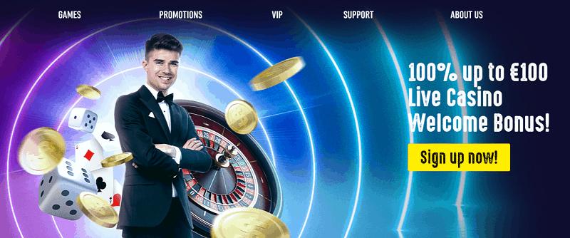 Spin It Live Casino Bonus