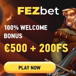 FezBet Casino bonus banner 250x250
