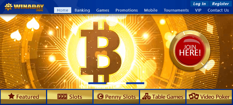 Winaday Bitcoin payment