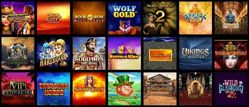 Casino Sinners Games