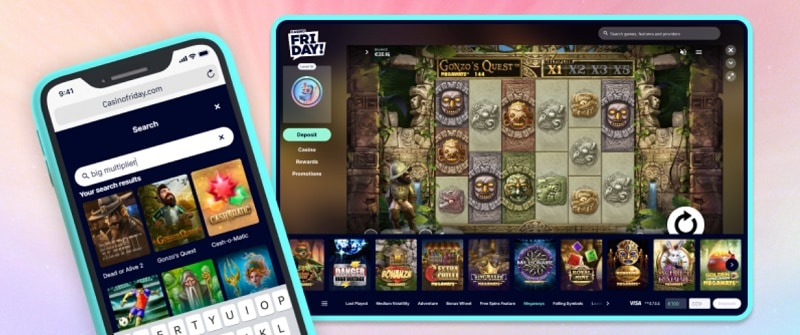 CasinoFriday Online and Mobile
