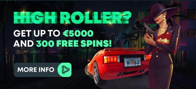 GreenSpin Casino 300 free spins