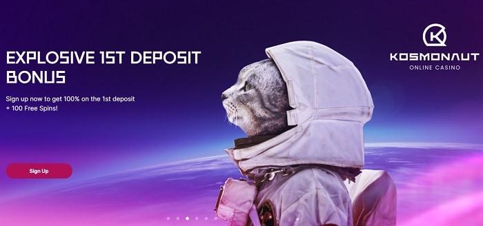 Kosmonaut Welcome Bonus