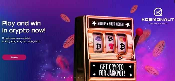 Kosmonaut Bitcoin Casino