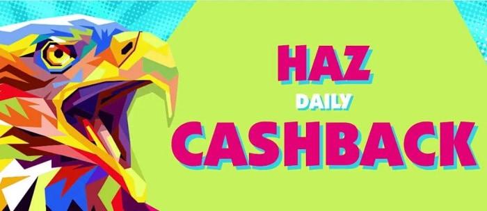Haz Casino Cashback