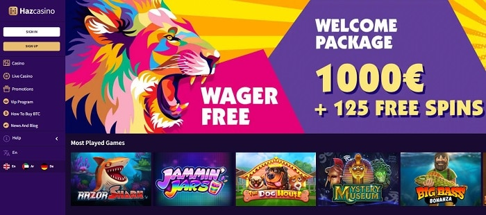 Haz Casino Slots