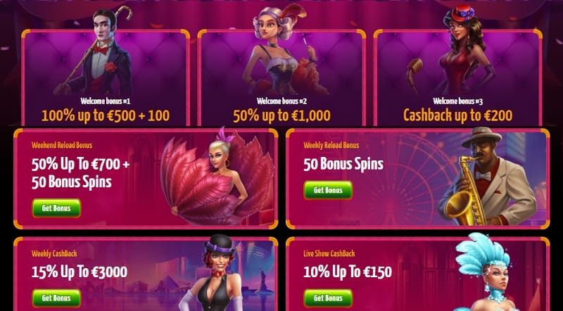 Winota Casino Welcome Bonus and Promotions