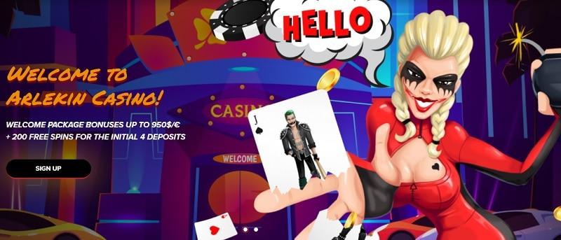 Arlekin Casino Bonuses and Promotions