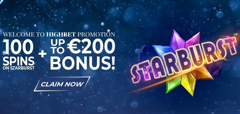 HighBet Casino & Sportsbook Welcome Bonus
