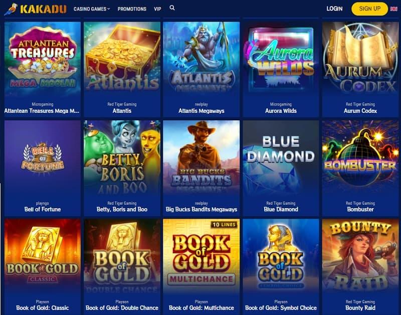 Kakadu Casino Free Spins Bonus Game