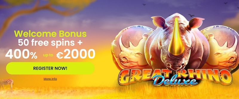 Maximal Wins Casino Welcome Bonus