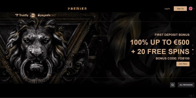 Premier Casino Welcome Bonus