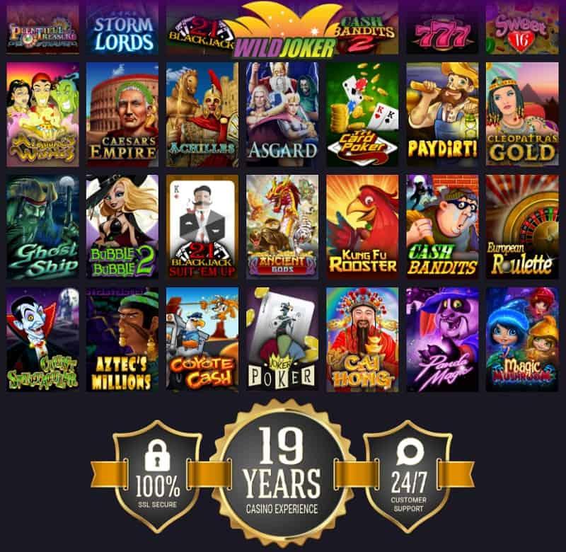 Wild Joker Casino Review & Rating